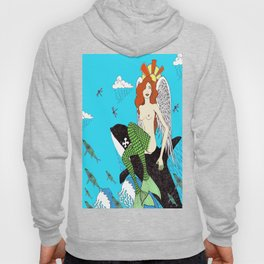 The Mermaid and The Whale Hoody