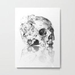 zkull - white Metal Print