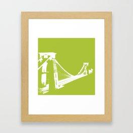 Clifton [Green] Framed Art Print