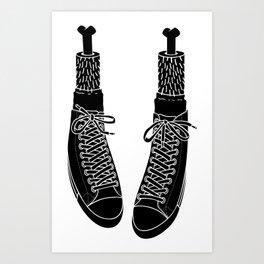 Chuck Feet Art Print
