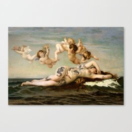 Birth of Venus Suicide Canvas Print