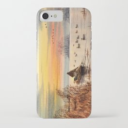 A Great Day For Hunting Ducks iPhone Case