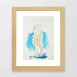 Journey to the End of the Night Framed Art Print