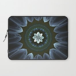 Blossom Within in White Laptop Sleeve