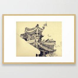 The Summer Palace Framed Art Print