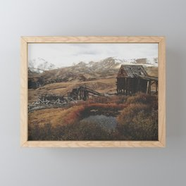 Mountain Mill Framed Mini Art Print