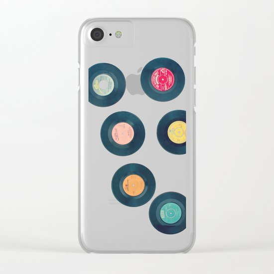 All of Our Yesterdays Clear iPhone Case