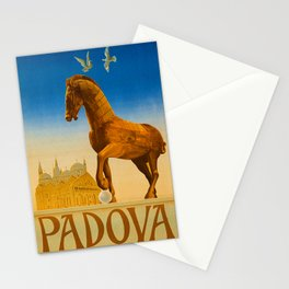 Vintage Padova or Padua Italy Travel Stationery Cards
