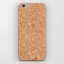 Real Cork iPhone Skin
