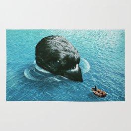 lost at sea Rug