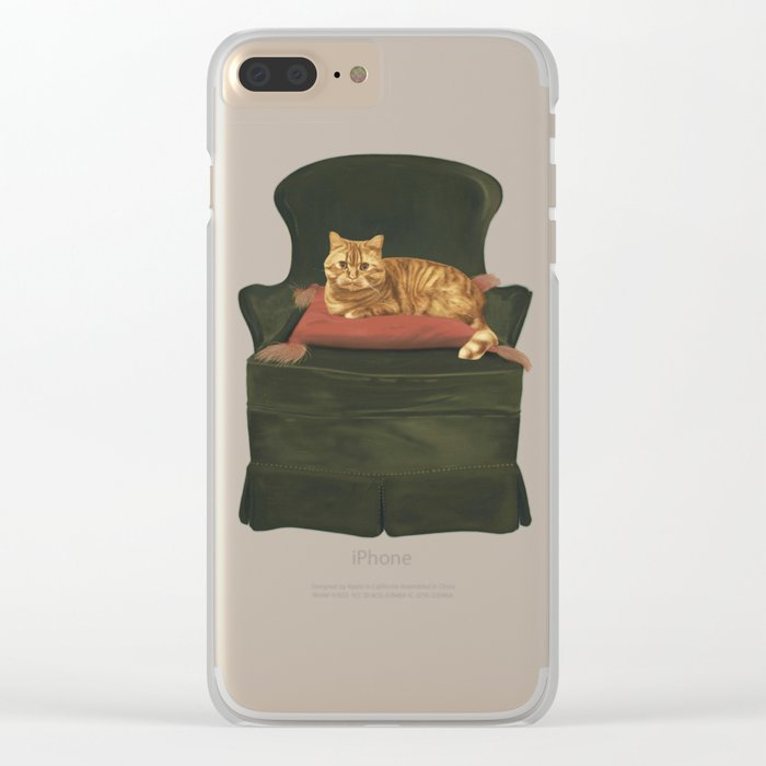 This is my throne Clear iPhone Case