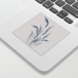 Blue flowers 2 Sticker