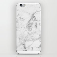 White Marble iPhone & iPod Skin