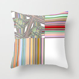 Re-Created Southern Cross XXXI by Robert S. Lee Throw Pillow