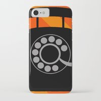 telephone iPhone & iPod Cases featuring telephone by vitamin