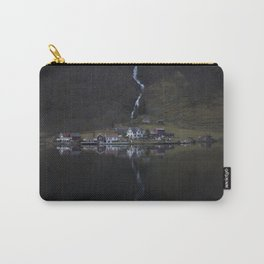 River that vanishes (Fjord) Carry-All Pouch