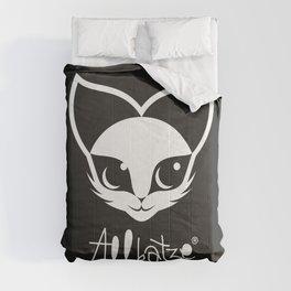 ALLKATZE * Space Cat - Weltraum-Katze - Chat d'Espace Comforters