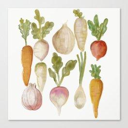 Veggie Garden Canvas Print