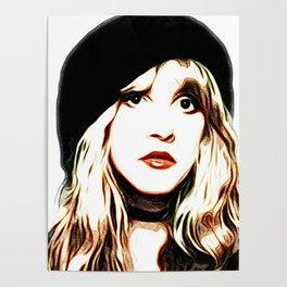 Stevie Nicks - Rhiannon - Pop Art Poster