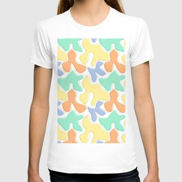 Colorful abstract geometric pattern  T-shirt
