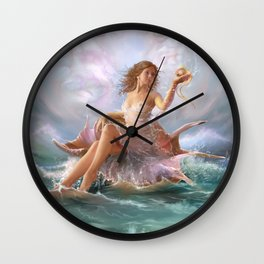 Queen of the Sea Wall Clock