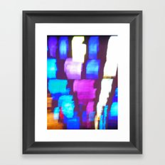 Finger (Glass) Painting Framed Art Print