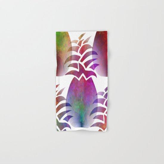 Pleasing Pineapple Hand & Bath Towel