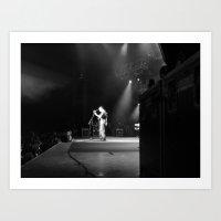dave matthews Art Prints featuring Dave Matthews Band  by Hum Chee