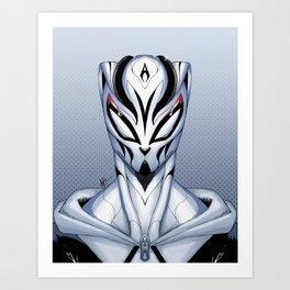 Mask of the Creators Art Print