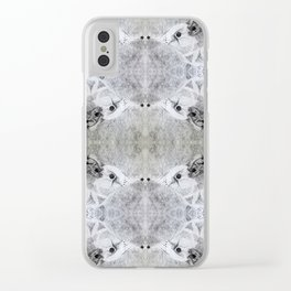 Pattern Clear iPhone Case