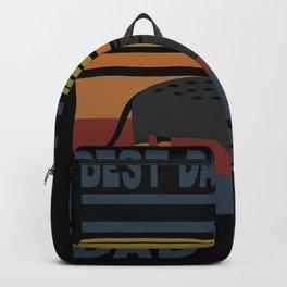 Best Dachshund Dad Ever Dog Four-legged Puppy Cute Backpack