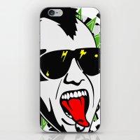 punk iPhone & iPod Skins featuring punk by mark ashkenazi