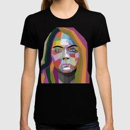Cara Delevingne - wpap art T-shirt