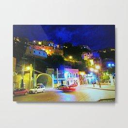 Guanajuato at night Metal Print