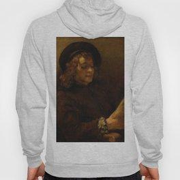 Rembrandt - Titus van Rijn, the Artist's Son, Reading (1657) Hoody