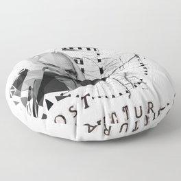 Michel Foucault Floor Pillow