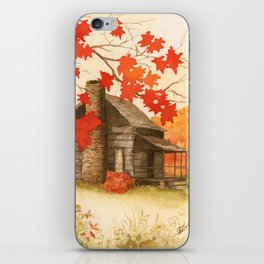 Smoky Mountain Cabin iPhone Skin