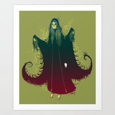 3 Witches Art Print