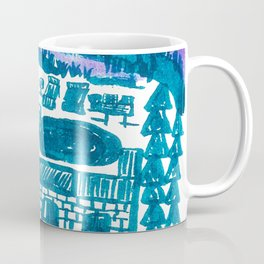 drawing_the promised land Coffee Mug