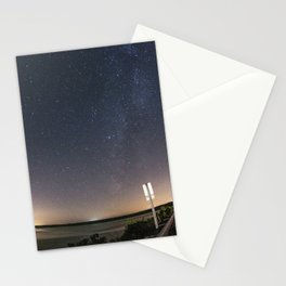 Perseid Meteor Shower Stationery Cards