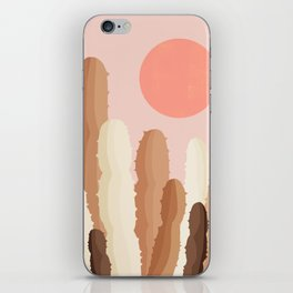 Abstraction_SUN_CACTUS_Minimalism_002 iPhone Skin