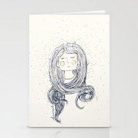hug Stationery Cards featuring Hug by huemula