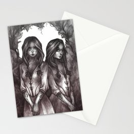 Deux Stationery Cards