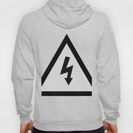 electric current danger signal Hoody