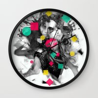 code Wall Clocks featuring Code W by Sitchko