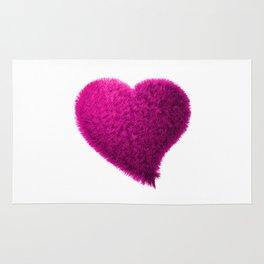 Pink heart, Pink love heart, Pink Heart art, Love heart print, Large heart print, Valentines Heart Rug