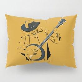 A Man Playing Banjo 1 Pillow Sham
