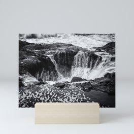 Thor's Well, No. 3 bw Mini Art Print