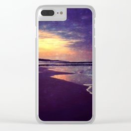 Walking on the dream... Clear iPhone Case