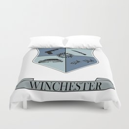 Winchester Coat of Arms Duvet Cover